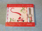 Fitz & Floyd Mingle Jingle Be Merry Snack Cookie Plate W/ Spreader New XMAS gift