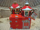 MARY ENGELBREIT HOME SWEET HOME CHRISTMAS SUGAR & CREAMER  **NEW STORE STOCK***