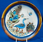 KEN EDWARDS MEXICO Hand Crafted  Large Dinner Plate with a Blue Bird Signed