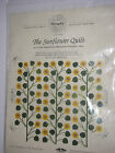 The Sunflower Quilt  5 Shelburne Museum Sampler Series Pattern OOP