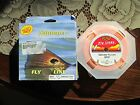 RIO Saltwater floating fly line WF9F coral two loops 100' never fished Agent X