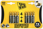 JCB Super Alkaline BatteriES 4 Plus 4 AAA