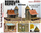 RL RUBBLES DEPOT KIT-YORKE/Scale Model Masterpieces HOn3 Fine Craftsman *NEW*