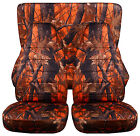 Cc Jeep Cherokee Frontback Car Seat Coverscamouflage Design.choose Color