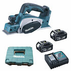 MAKITA 18V LXT DKP180 PLANER 2 x BL1840, 1 x DC18RC AND CASE