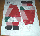 Fabric Traditions Cotton Fabric Panel Large Santa Toy Doll Christmas Deoration