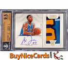 2012-13 Anthony Davis National Treasures 4 Color RC Patch Auto 199 BGS 9.5 10