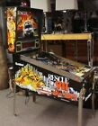 Gottlieb Rescue 911 Functional Pinball Machine 94' Vtg Cbs Fire Coin Arcade Game