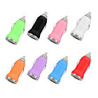 USB Car Charger Adapter 5V 1000mA iPhone 4 5 6 iPod Smartphone Galaxy S3 S4 S5