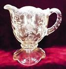 Northwood Intaglio Cream Pitcher White Opalescent Early American Pattern Glass