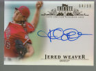 2013 Topps Tribute Inkable Accolades Autograph Auto Jered Weaver 54 99 Angels
