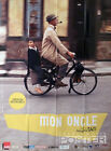 MON ONCLE JACQUES TATI MOTORCYCLE 2013 REISSUE LARGE MOVIE POSTER