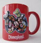 Disneyland Resort Coffee Mug Cup Mickey Minnie 2006 3D Donald Goofy Pluto 16 oz
