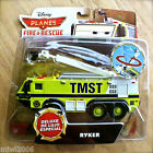 Disney Planes FIRE  RESCUE RYKER DELUXE Rotating Boom TMST diecast truck engine