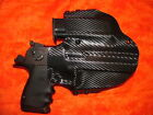 HOLSTER COMBO W Extra Mag BLACK CARBON FIBER KYDEX DESERT EAGLE 357 44 MAG 50 AE