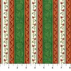 1 yard Christmas Traditions Stripe by Tracey Sims Northcott 100 cotton fabric