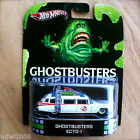 Hot Wheels GHOSTBUSTERS ECTO 1 Diecast RETRO ENTERTAINMENT ECT0 1 2013 INTL CARD