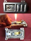 Vintage MaruMan Electric Table Gas Lighter  gas tank repair replacement parts