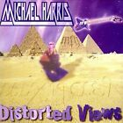 MICHAEL HARRIS Distorted Views CD ~Orig Pressing~ CHASTAIN, ARCH RIVAL, LEATHER