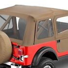 For Jeep CJ5 76 83 Bestop Supertop Classic Tan Complete Replacement Soft Top