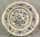 Wedgwood Blue Heritage Vegetable Bowl Serving Porcelain Vintage Enoch