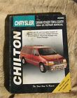 Chilton 20300 Chrysler Dodge Caravan Voyager Town Country 1984-95 Repair Manual