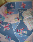 POTTERY BARN KIDS SOPHIE BUTTERFLY CRIB QUILT SET BED + extras