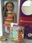 American Girl of the Year Lea Clark 18 Doll Book Compass Necklace Bag New NIB
