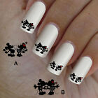60 nail art decal,Minnie love,nail art design,nail stickers,disney style, 02
