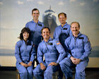 SPACE SHUTTLE CHALLENGER STS 7 CREW 8x10 PHOTO NASA SALLY RIDE