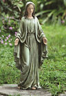 Blessed Virgin Mother Mary Garden Statue Decor Figure Christian Catholic 19.25