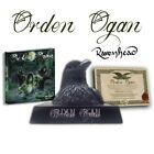 Orden Ogan - Ravenhead (Ltd.Boxset) statue coa cd and dvd