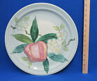 Red Wing Hand Painted Pottery Plate Platter Normandy Pattern Apple Blossoms