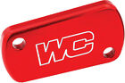 WORKS REAR BRAKE COVER (RED) Fits: Honda CRF450R,CRF250R,CRF150R,CRF150R Expert,