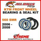 25-1402 KTM 560SMR 560 SMR 2006-2008 FRONT WHEEL BEARING KIT