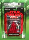 STAR WARS 2005 SW SHOP RED METALLIC HOLIDAY EDITION DARTH VADER AFA 85