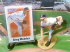 2000  GREG MADDUX - Starting Lineup - SLU- Loose With Card Stand -Atlanta Braves