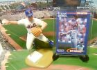 1998  REY ORDONEZ - Starting Lineup - Loose Figure Card & Stand - New York Mets