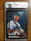 1994 SP ALEX RODRIGUEZ RC #15 GAI CERTIFIED - GORGEOUS BOLD AUTO MUST SEE
