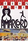 AMARCORD by FEDERICO FELLINI AUDIO IN ITALIAN AND ENGLISH ALL REG DVD