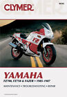 CLYMER REPAIR MANUAL Fits: Yamaha FZ750,FZ700 Genesis