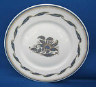 Salad Plate Richard Ginori Italy ORCHIDEA BLUE Gold Leaves Trim A++