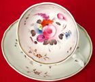 Saucer Hand Painted, England Early 1800s