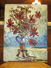 Early Circa 1979 Morris Katz Still Life Oil Painting