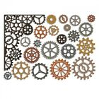 Sizzix Thinlits Die Set 22PK 661184 Gearhead by Tim Holtz