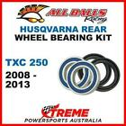 MX Rear Wheel Bearing Kit Husqvarna TXC250 TXC 250 2008-2013, All Balls 25-1420
