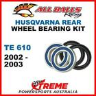 MX Rear Wheel Bearing Kit Husqvarna TE610 TE 610 2002-2003 Enduro, All Balls 25-
