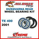 MX Rear Wheel Bearing Kit Husqvarna TE400 TE 400 2001 Enduro Moto, All Balls 25-