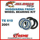 MX Front Wheel Bearing Kit Husqvarna TE610 TE 610 2001 Enduro, All Balls 25-1416