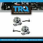 TRQ Wheel Hub  Bearing w Tie Rod End Outer Kit for Armada Titan Q56 New